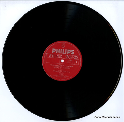 LAGOYA, ALEXANDRE vivaldi; four guitar concertos X-7794 - disc