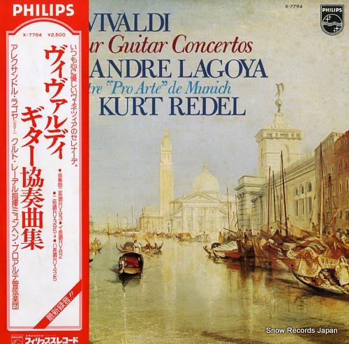 LAGOYA, ALEXANDRE vivaldi; four guitar concertos X-7794 - front cover