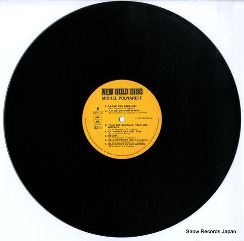 POLNAREFF, MICHEL new gold disc ECPO25 - disc