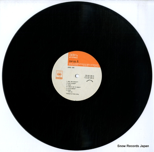 IAN, JANIS janis ian 25AP600 - disc