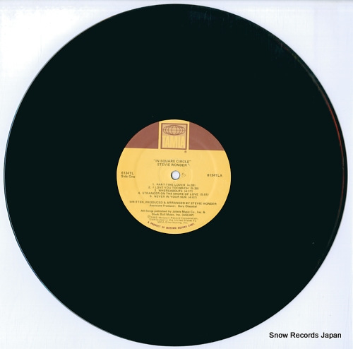 WONDER, STEVIE in square circle 6134TL - disc