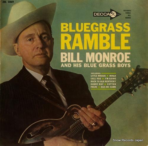 ビル・モンロー - ブルーグラス・ランブル - JDL5069 - レコード ...