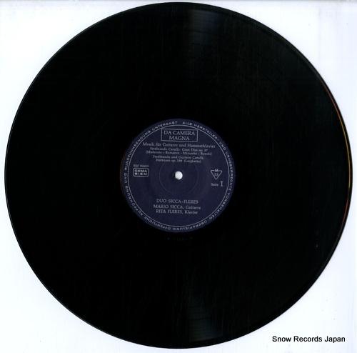SICCA, MARIO, AND RITA FLERES schlager des rokoko SM93605 - disc