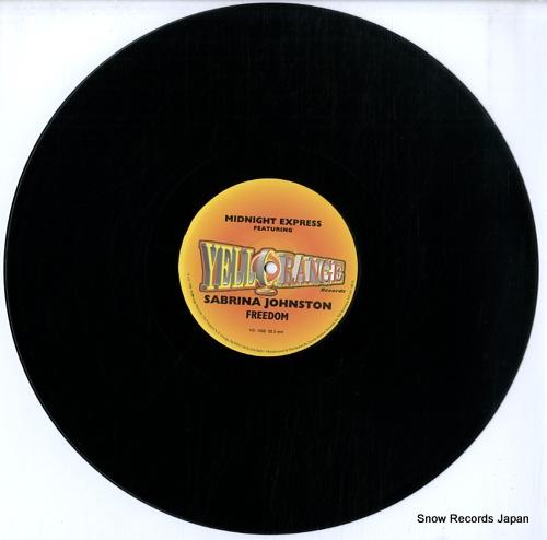MIDNIGHT EXPRESS FEATURING SABRINA JOHNSTON freedom YO-1002 - disc