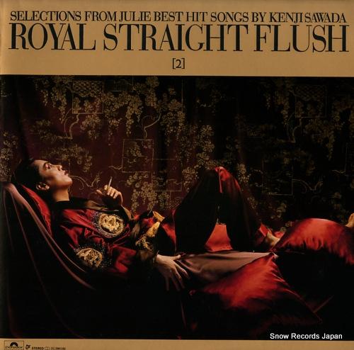 SAWADA, KENJI royal straight flush 2 28MX1080 - front cover