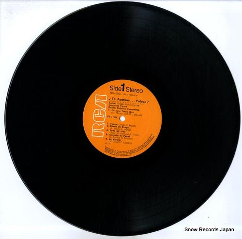 TROILO, ANIVAL te acordas polaco RCA-5021 - disc
