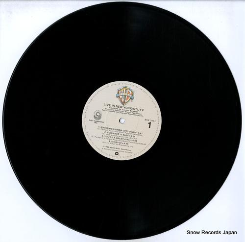STUFF live in new york BSK3417 - disc