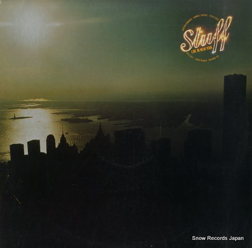 STUFF live in new york BSK3417 - front cover