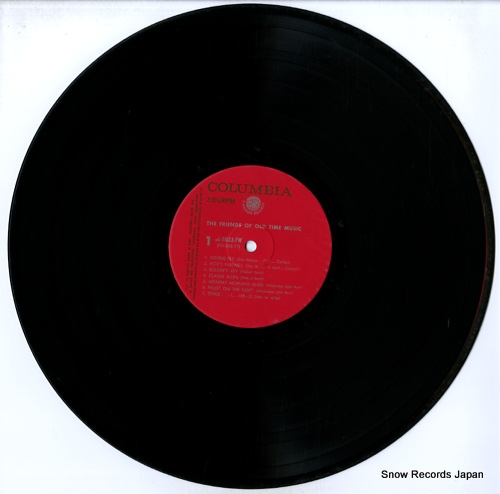 V/A friends of old time music SL-5033-FW - disc