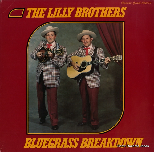 LILLY BROTHERS, THE bluegrass breakdown SS-01 - front cover