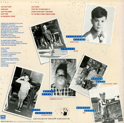 GEILS, J., BAND, THE love stinks EYS-81259 - back cover