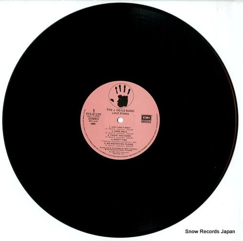 GEILS, J., BAND, THE love stinks EYS-81259 - disc
