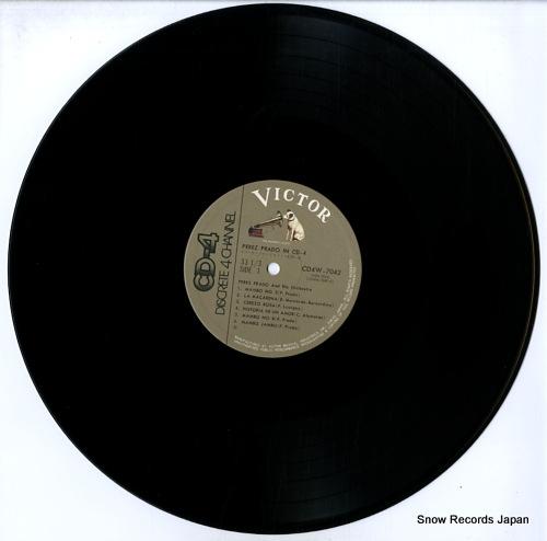 ペレス・プラード イン・cd-4 CD4W-7042