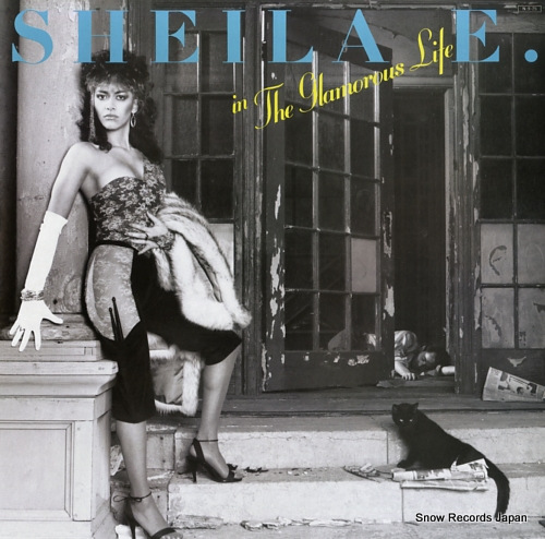 SHEILA E. in the glamorous life P-13035 - front cover