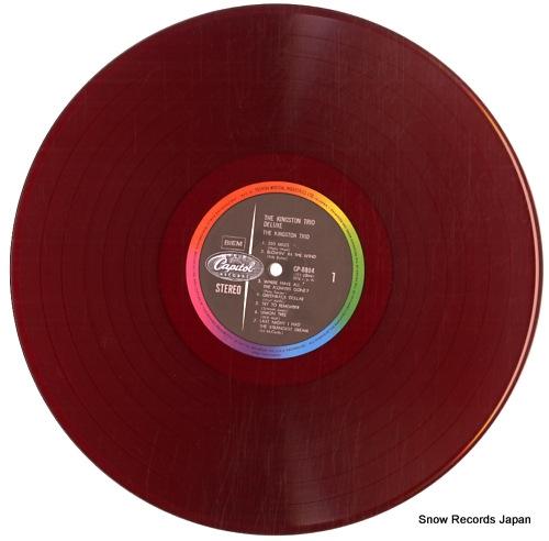 KINGSTON TRIO, THE the kingston trio deluxe CP.8004 - disc