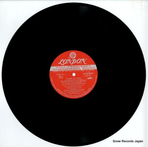 KARAJAN, HERBERT VON karajan presents christmas K15C8030 - disc