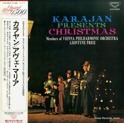 KARAJAN, HERBERT VON karajan presents christmas K15C8030 - front cover