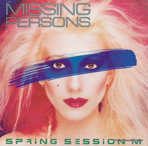 MISSING PERSONS spring session m ST-12228 - front cover