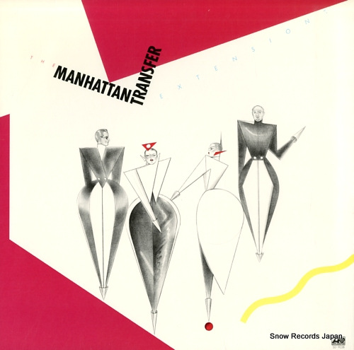MANHATTAN TRANSFER extensions SD19258 - front cover