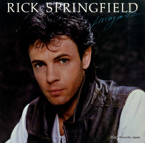 SPRINGFIELD, RICK living in oz AFLI-4660 - front cover