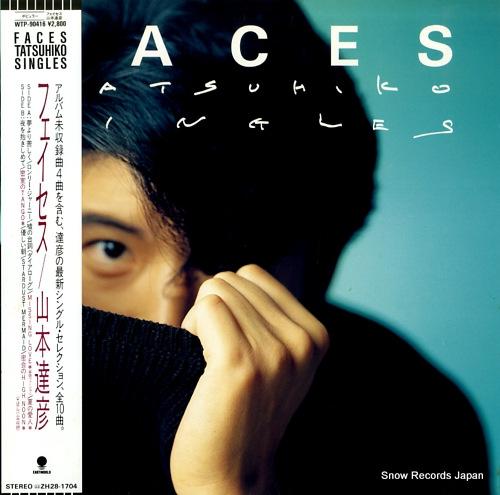 YAMAMOTO, TATSUHIKO faces WTP-90416 - front cover