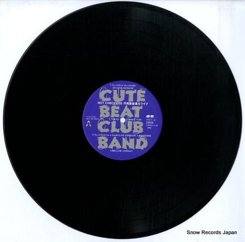 CUTE BEAT CLUB BAND not checkers endakasaeki kangen live C28A0608 - disc