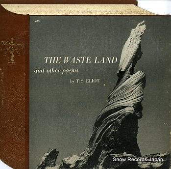 T.S.エリオット the waste land and other poems SPOKENARTS734