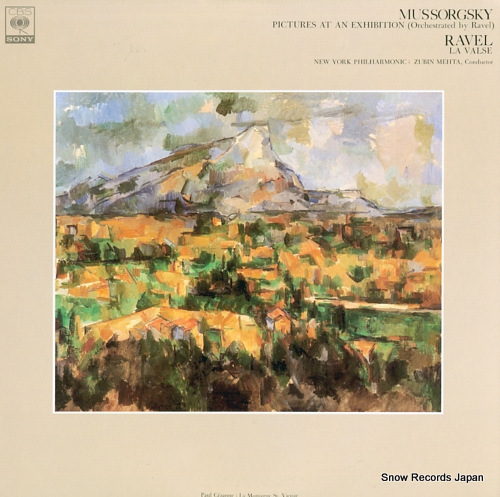 MEHTA, ZUBIN mussorgsky; pictures at an exhibition (orchestrated by ravel) FCCA528 - front cover