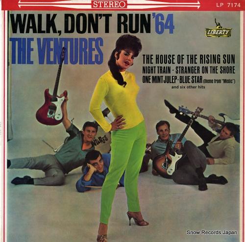 ザ・ベンチャーズ walk, don't run `64 LP7174