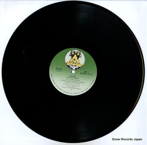 TANGERINE DREAM cyclone VIP-6912 - disc