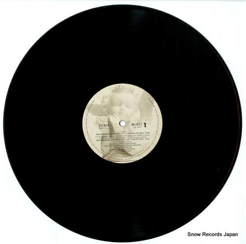 LITTAUR, DAVID bach; brandenburg congertos AA.5077 - disc