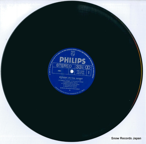 MAURIAT, PAUL spotlight on FDX-9201-2 - disc