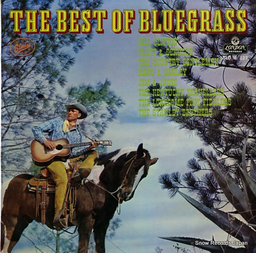 V/A the best of bluegrass SLC(M)227 - front cover