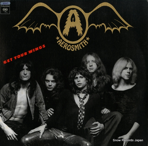 AEROSMITH get your wings JC32847 - front cover