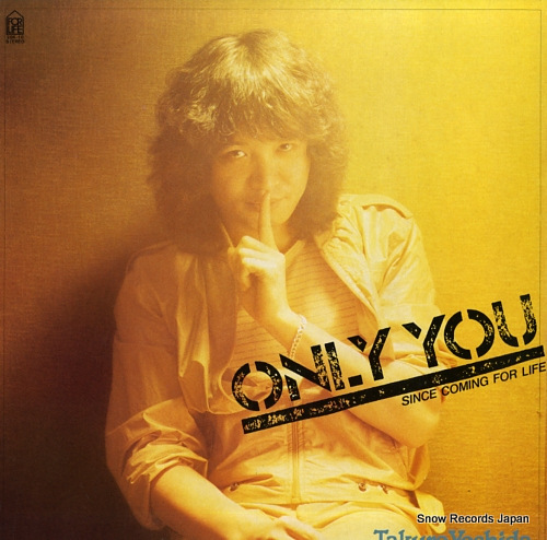 YOSHIDA, TAKURO only you since coming for life 28K-18 - front cover