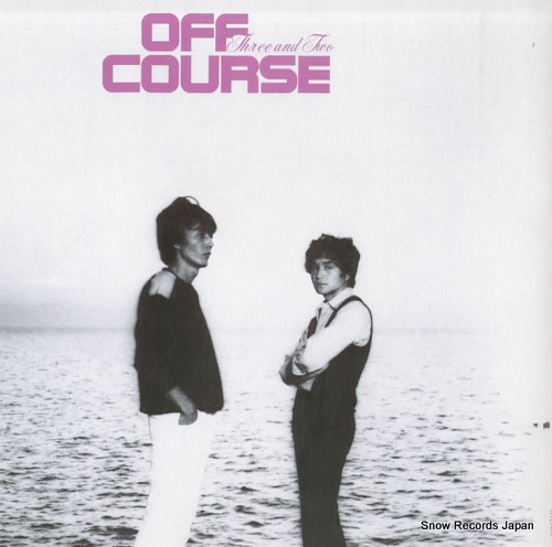 OFF COURSE three and two ETP-80107 - back cover