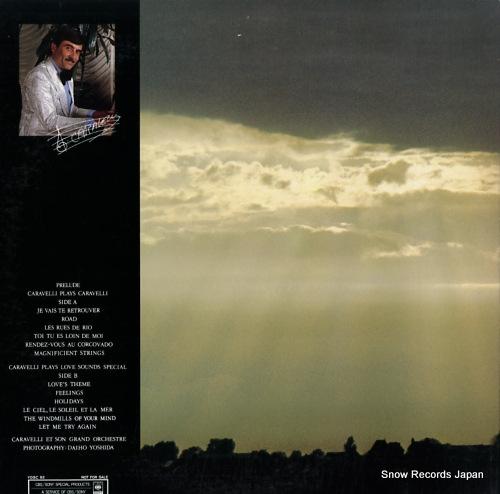 CALAVELLI ET SON GRAND ORCHESTRE prelude, sur les ailes du vent et de la lumiere YDSC92 - back cover