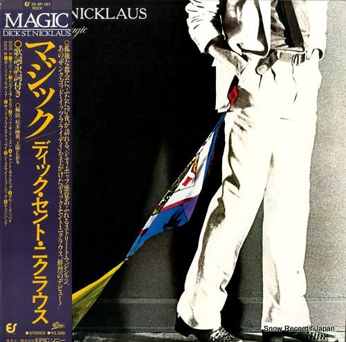 ST. NICKLAUS, DICK magic 25.3P-187 - front cover