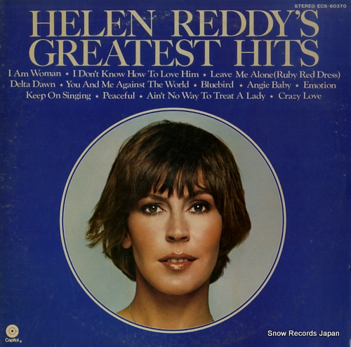 REDDY, HELEN greatest hits ECS-80370 - front cover