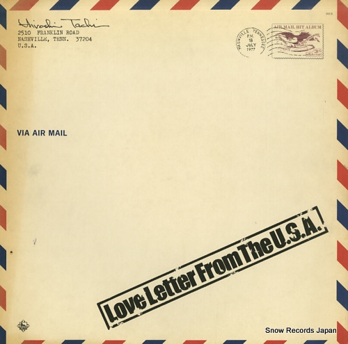 TACHI, HIROSHI love letter from the u.s.a. SKS8 - front cover