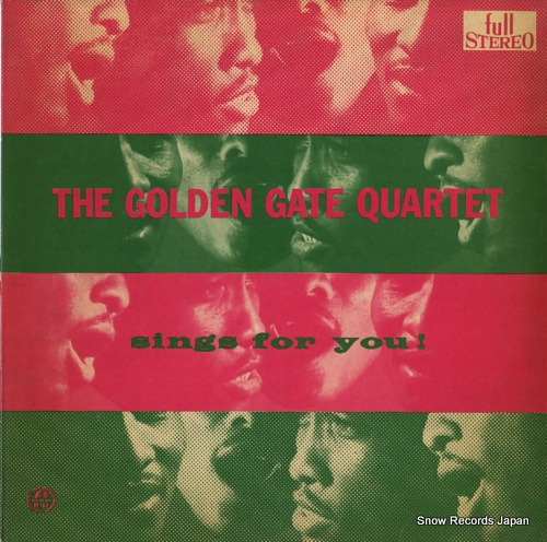 GOLDEN GATE QUARTET, THE sings for you M-164 - front cover