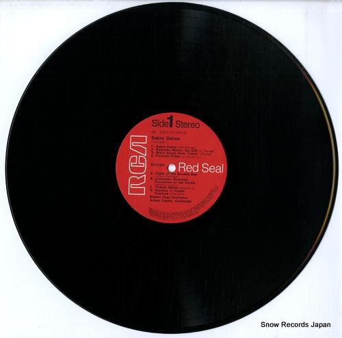 FIEDLER, ARTHUR sabre dance SRA-2807 - disc