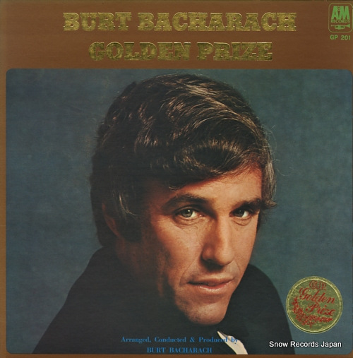 BACHARACH, BURT golden prize GP201 - front cover