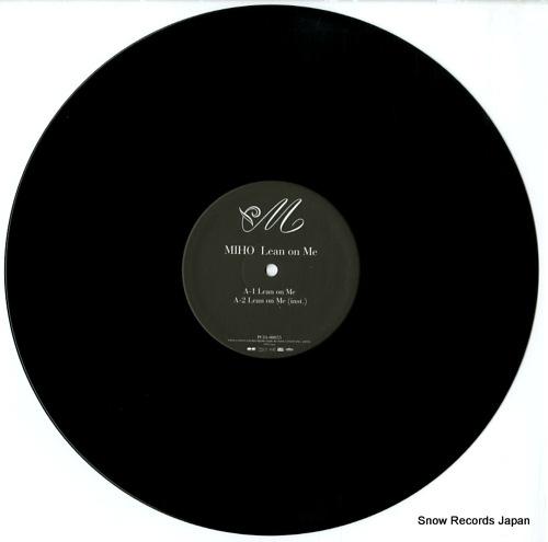 MIHO lean on me PCJA-00055 - disc