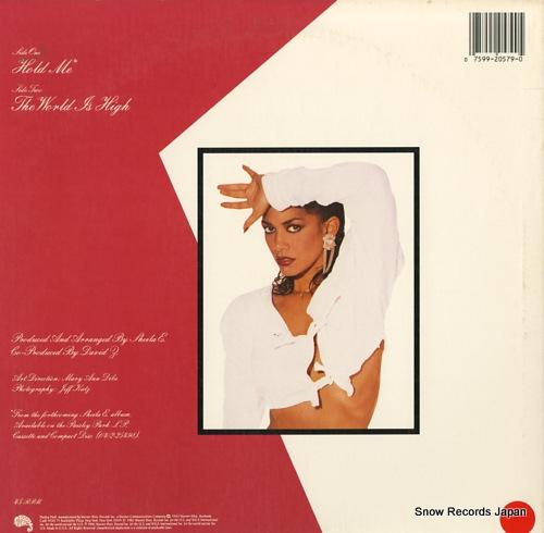 SHEILA E. hold me 20579-0 - back cover