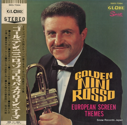 ROSSO, NINI golden nini rosso / european screen themes SWG-7084 - front cover