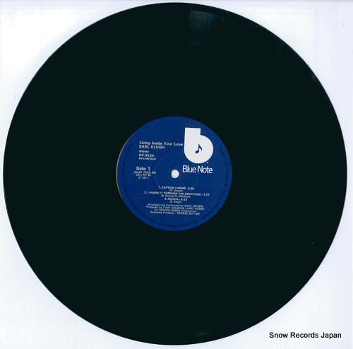 KLUGH, EARL living inside your love GP3124 - disc