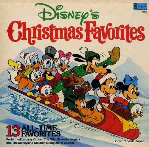ラリー・グロース disney's christmas favorites DISNEYLAND2506