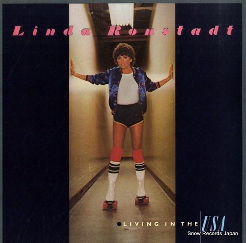 RONSTADT, LINDA living in the usa 6E-155 - front cover