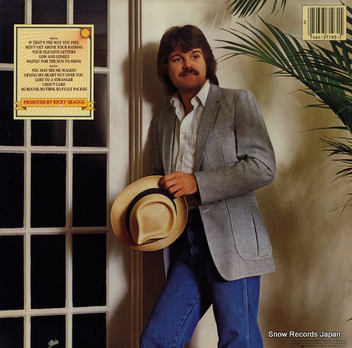 SKAGGS, RICKY waitin' for the sun to shine FE37193 - back cover